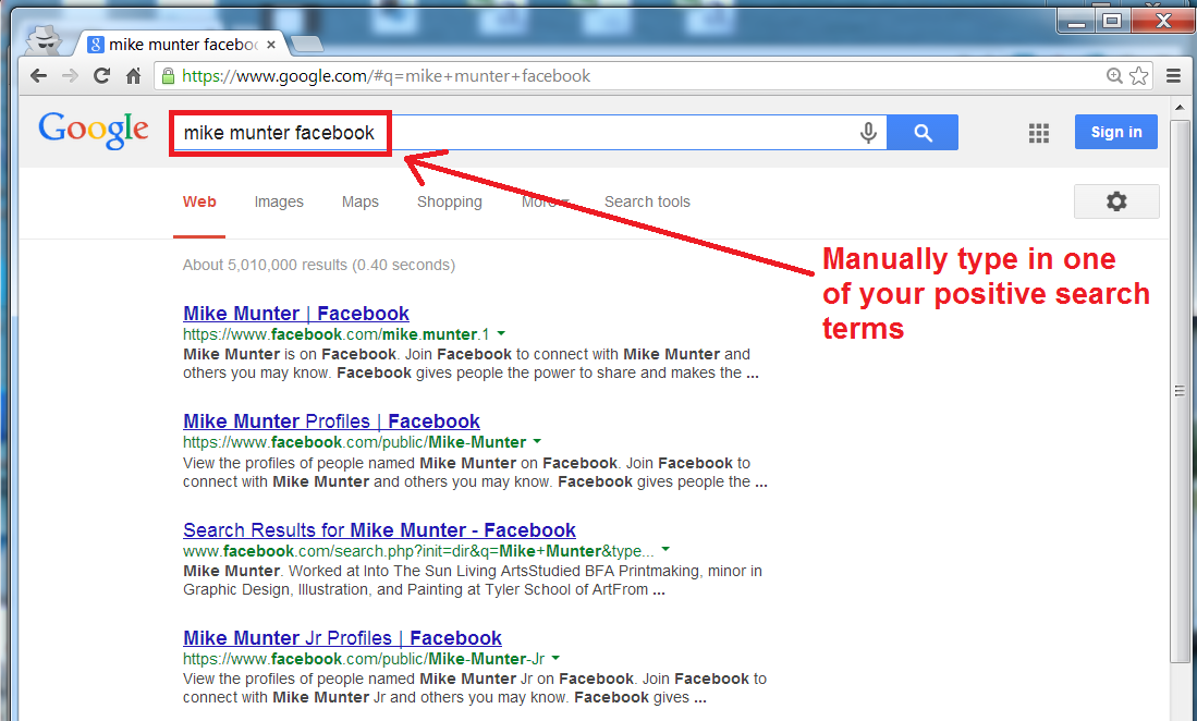 change google autosuggest step 5