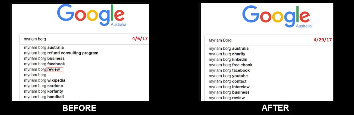 Change Google Autocomplete